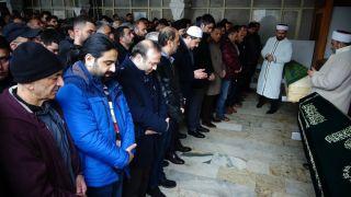 Ataşehir'de öldürülen taksici son yolculuğuna uğurlandı