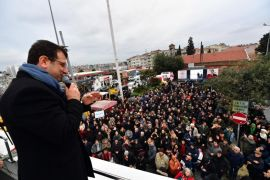 İmamoğlu'ndan Şişli'de greve giden temizlik işçilerine çağrı