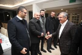 Murat Aydın ilçe belediye meclis üyesi aday adaylarıyla bir araya geldi