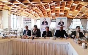 AK Parti Avcılar Belediye Başkan Adayı Dr. İbrahim Ulusoy, yerel basın mensupları ile buluştu