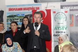 """AK Parti Eyüpsultan Belediye Başkan adayı Köken: """"İndi bindiler belli zaman dilimi içinde ücretsiz olacak"""""""