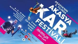 Akasya 5'inci yaşına Kar Festivali ile girecek