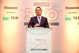 Anadolu'nun En Büyük 500 Şirketi Araştırması Ödülleri sahiplerini buldu