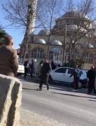 Arnavutköy'deki çatışmada silah sesleri kamerada
