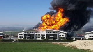 Arnavutköy'deki yangının çıkış anını işçiler anlattı
