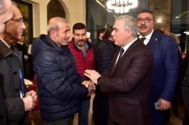 Bakan Varank ve Fatih Başkan Adayı Turan, Beyazıt Devlet Kütüphanesi'ni ziyaret etti