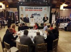 Başkan adayı Ulusoy, Avcılar'daki sporcular ve aileleriyle buluştu