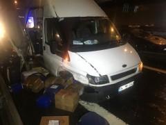 Beşiktaş'ta trafik kazası; 1 yaralı