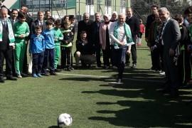 Binali Yıldırım'dan seçim vaadi: 'Mahalle maçları geri geliyor'