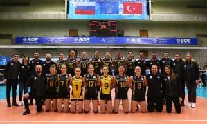 CEV Kadınlar Şampiyonlar Ligi: Dinamo Moskova: 3 – VakıfBank: 2