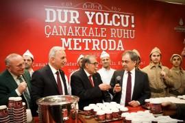 Çanakkale ruhu Metro İstanbul'da