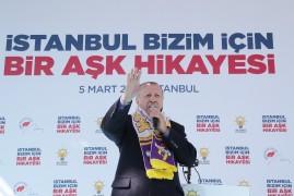 """Cumhurbaşkanı Erdoğan, """"Deniz Köken kardeşim ile el ele vereceğiz, Eyüpsultanı farklı yerlere taşıyacağız """" (2)"""