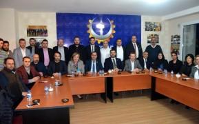 DSP Büyükçekmece Belediye Başkan adayı Şahbaz'dan iş adamlarına ziyaret