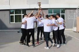Doğa Koleji'ne basketbol şampiyonasında çifte kupa