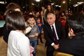 Fatih Belediye Başkan adayı Ergün Turan'dan musiki cemiyeti hayali