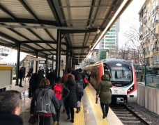 Gebze – Halkalı treninde ilk gün yoğunluğu