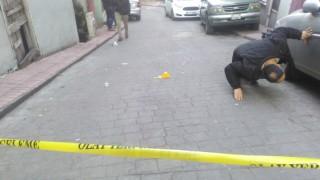 İşe giderken maskeli iki kişinin silahlı saldırısına uğradı:1 yaralı