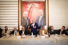 """İsmet Yıldırım: """"Türkiye'nin bölünmez bütünlüğü her şeyin üzerinde"""""""