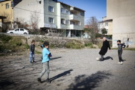İsmet Yıldırım, çocukların futbol coşkusuna ortak oldu