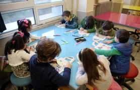 Kreş öğrencileri İstek Uluğbey Okullarını ziyaret etti