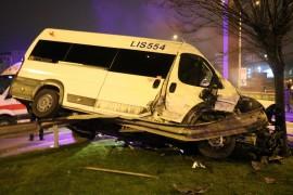 Maltepe'de feci kaza: 1 yaralı