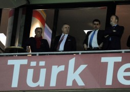 Mustafa Cengiz maçı locadan takip etti