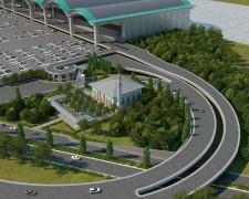 Sabiha Gökçen Havalimanı için 2 bin 800 kişi kapasiteli cami projesinin temeli atıldı
