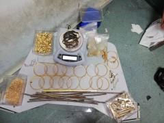 'Sahte altın' çetesi ayda 1 milyon 500 bin lira değerindeki sahte ziynet eşyasını piyasaya sürmüş