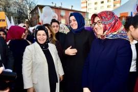 Sancaktepe Başkan Adayı Döğücü Kadınlar Günü programlarına katıldı