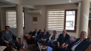 Sarıyer Belediye Başkanı Şükrü Genç dini önderleri ziyaret etti