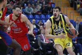 THY Euroleague: CSKA Moskova: 70 – Fenerbahçe Beko: 68