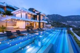 Turistlerin yeni gözdesi kiralık villalarda geceleme yüzde 26,5 arttı