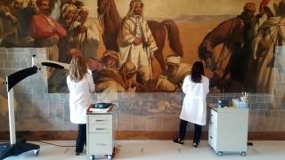 Türkiye'deki en büyük oryantalist tablosu sonbaharda ziyarete açılacak