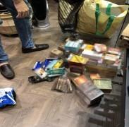 İstanbul'da sigara ve nargile tütününün de aralarında olduğu binlerce kaçak ürün ele geçirildi