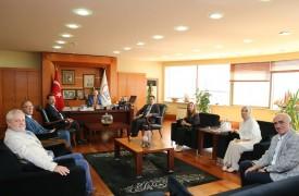 Kaymakam Şenel'den Başkan Aydıner'e ziyaret