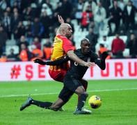 Süper Lig: Beşiktaş: 3 – İ.M. Kayserispor: 0 (İlk yarı)
