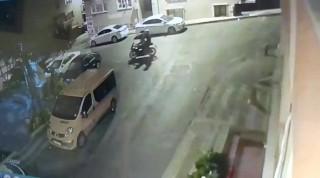 (Özel)Lüks Motosiklet hırsızlığı kamerada