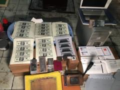 Ataşehir'de sahte para basılan matbaaya baskın: 3 gözaltı