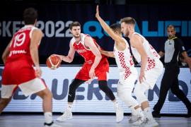 FIBA 2022 Avrupa Şampiyonası Elemeleri: Hırvatistan: 79 – Türkiye: 62