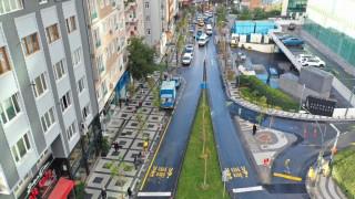 Seyir Caddesi yeni görünümüne kavuştu