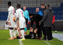 UEFA Avrupa Ligi: Karabağ: 1 – DG Sivasspor: 1 (İlk yarı)