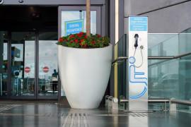 Engelli yolcular için engelsiz havalimanı