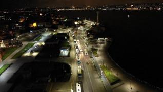İstanbul'da kısıtlama başladı: Üsküdar Meydanı sessizliğe büründü